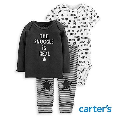 Carter's 個性圖文印圖3件組套裝