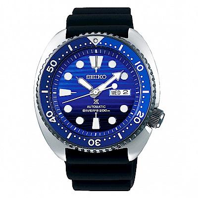 SEIKO精工PROSPEX 潛水機械手錶SRPC91J1-藍X黑/45mm