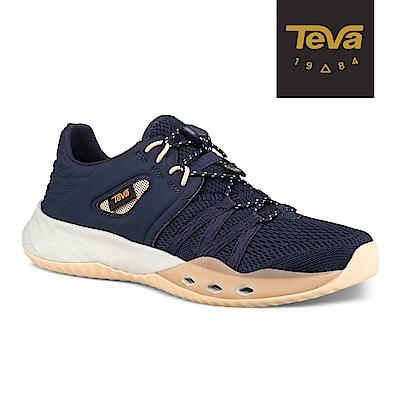 【TEVA】原廠貨 女 Terra-Float Churn 輕量水陸休閒鞋/溯溪鞋(深藍-TV1099435ECL)