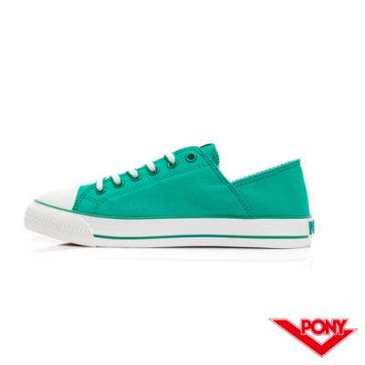 【PONY】Shooter懶人鞋款帆布鞋 女鞋 綠色