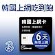 韓國上網卡 - 6天吃到飽 product thumbnail 1