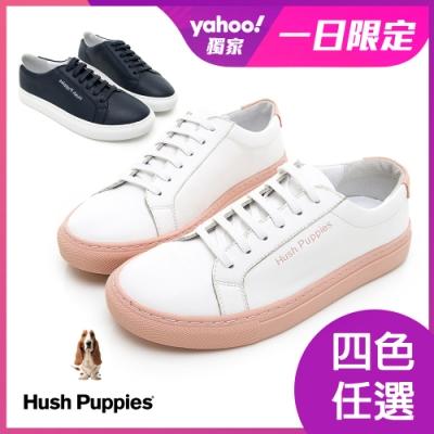 [時時樂限定] Hush Puppies Serendipity 綁帶女休閒鞋 四色