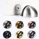HJ012 不鏽鋼薄型半圓帶磁低門擋/銀色 固定式 門止