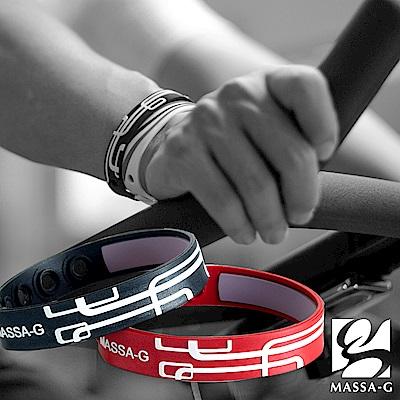 MASSA-G【幾何雙謎】 鍺鈦能量舒壓健康手環