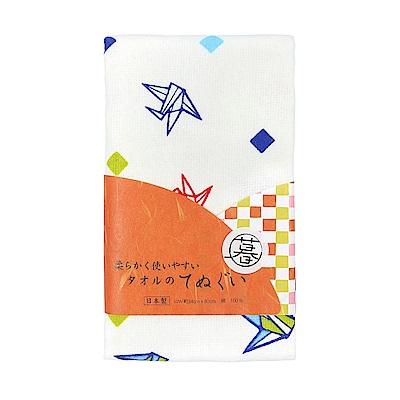 日本丸真 泉州製輕紗毛巾-紙飛機