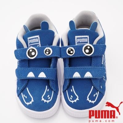 PUMA童鞋 造型童趣休閒鞋款 TH71097-01藍小童段)
