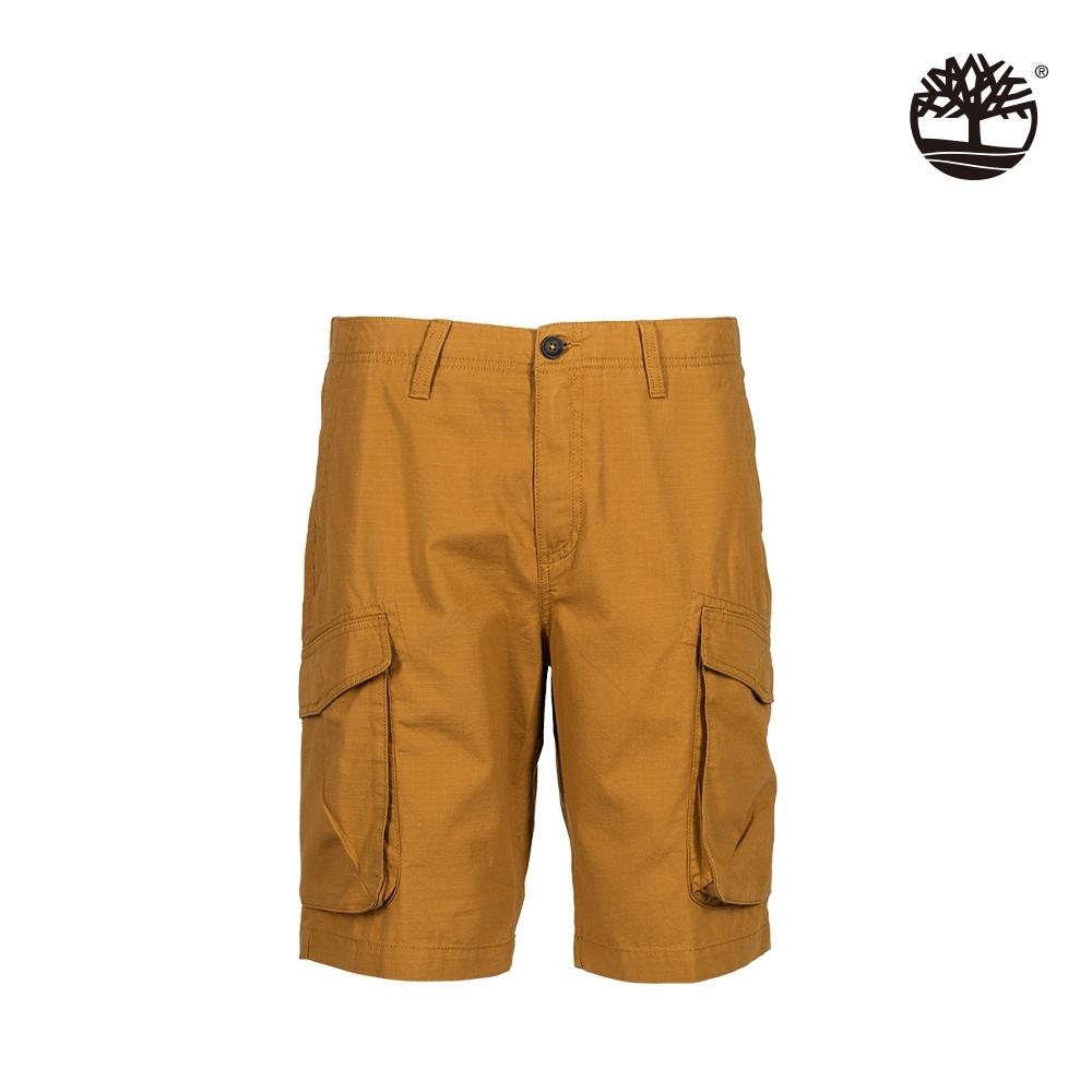 Timberland 男款小麥色寬版工裝短褲|A2C58