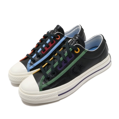 Converse 休閒鞋 All Star 低筒 穿搭 男女鞋 基本款 簡約 情侶款 皮革 質感 黑 彩 167140C