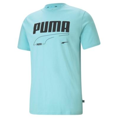 【PUMA官方旗艦】基本系列Rebel短袖T恤 男性 58573849