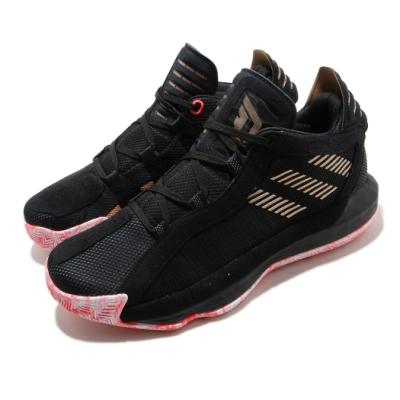 adidas 籃球鞋 Dame 6 GCA 運動 男鞋 愛迪達 李拉德 避震 中筒 NBA 黑 紅 FW9024