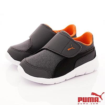 PUMA童鞋 KNOERFIT款 ON90943-05灰橘(小童段)