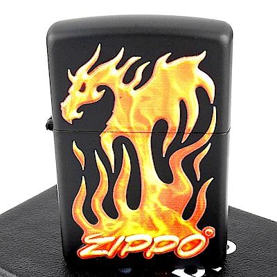 ZIPPO 美系 Dragon Design 火焰龍立體圖案打火機