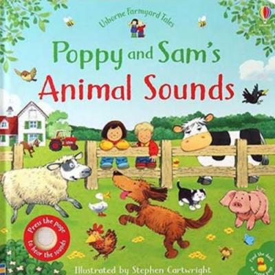 Poppy And Sam s Animal Sounds 帕皮和山姆的動物音效書