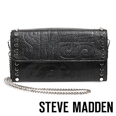 STEVE MADDEN-BELVIS 經典SM個性鉚釘包-黑色
