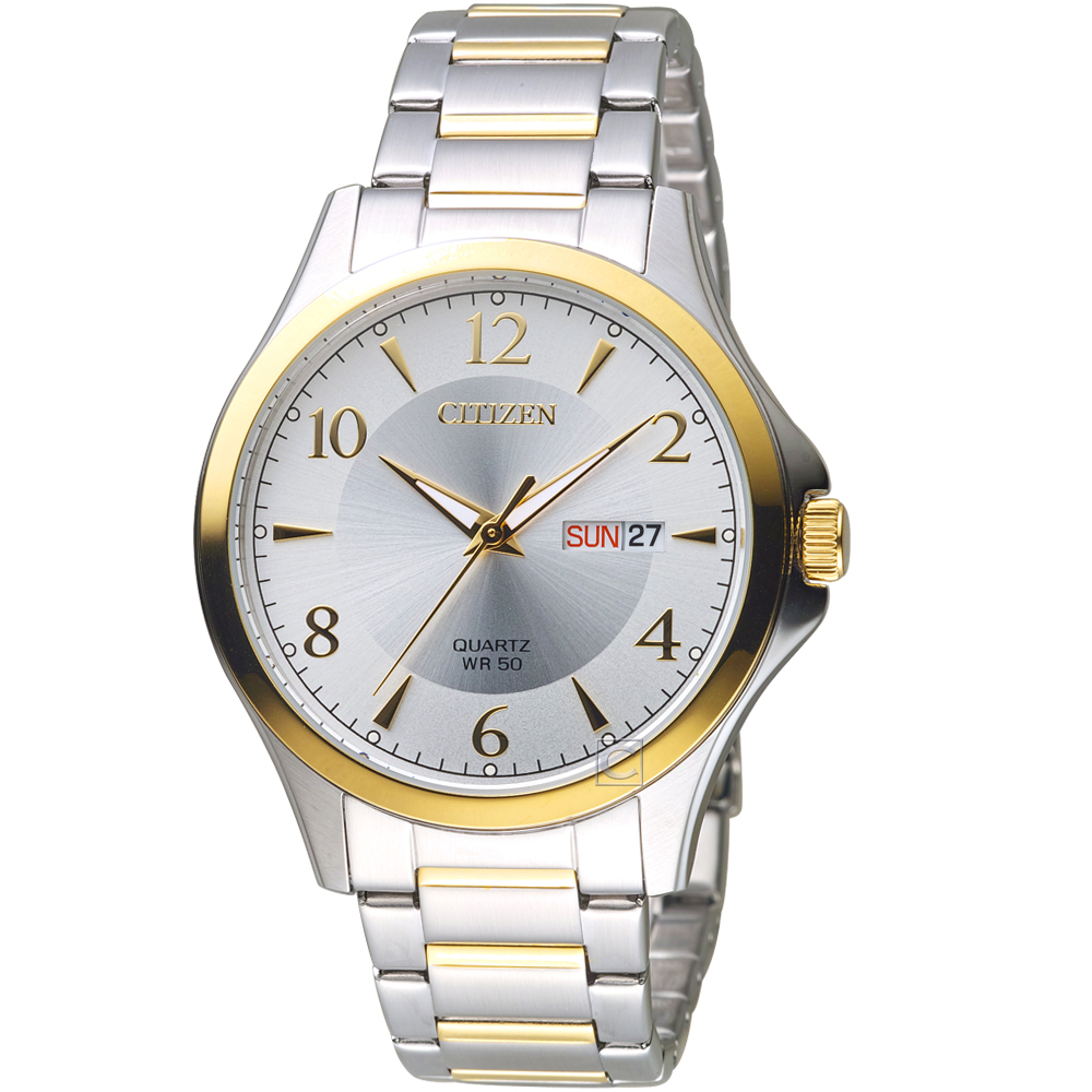 CITIZEN 星辰 紳士時尚腕錶(BF2005-54A)42mm