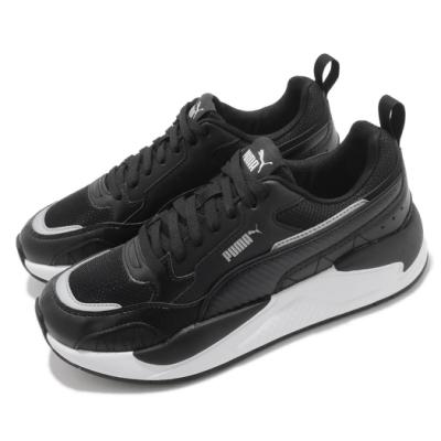 Puma 休閒鞋 X-Ray 2 Square 男鞋 厚底 流行款 緩震 穿搭推薦 黑 白 37310808