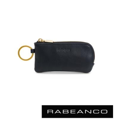RABEANCO 迷時尚系列鑰匙零錢包 深藍