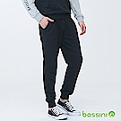 bossini男裝-針織束口棉褲01黑