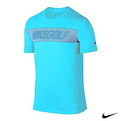Nike Golf 運動休閒短袖上衣 水藍 802924-466
