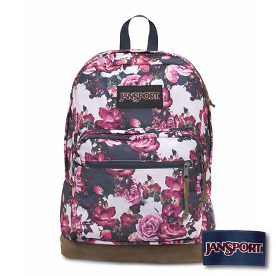 JanSport -RIGHT PACK EXPRESSIONS系列後背包 -薔薇