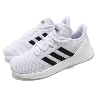 adidas 慢跑鞋 Questar Flow NXT 男鞋 愛迪達 路跑 緩震 輕量 透氣 穿搭 白 黑 FY9560