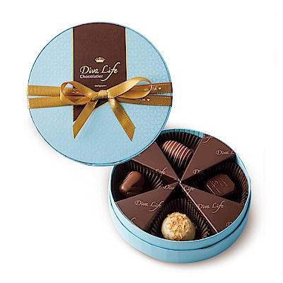 Diva Life 花漾圓夢巧克力禮盒-熱帶風情(比利時夾心巧克力)