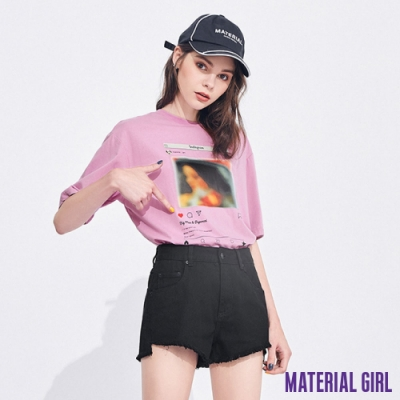 MATERIAL GIRL 超火網紅IG元素上衣【20春季款】-A1410
