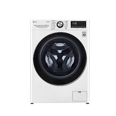 LG樂金 10.5公斤 蒸洗脫烘 WiFi滾筒洗衣機 WD-S105VDW 典雅白