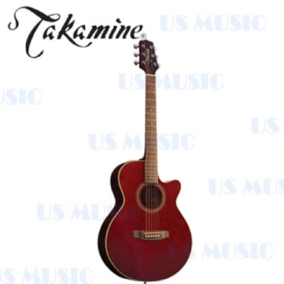 Takamine D51C木吉他 / 民謠吉他 / 酒紅色 / 贈超值配件包