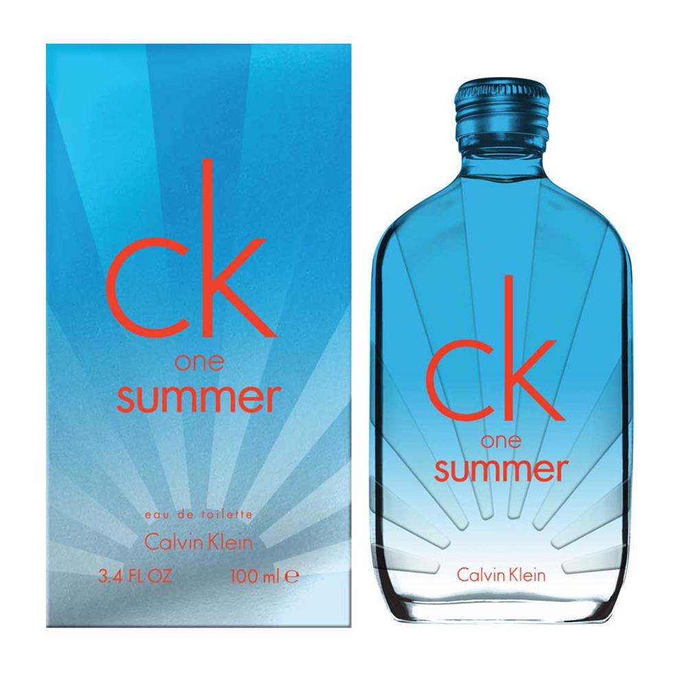 *Calvin Klein One Summer 2017夏日限量版中性淡香水100ml
