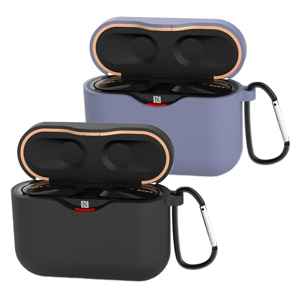 SONY WF-1000XM3 藍牙耳機專用矽膠保護套 (附掛勾)