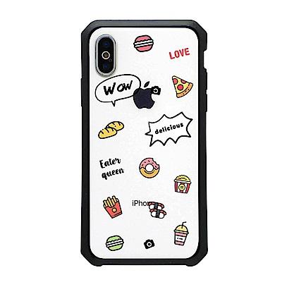 【TOYSELECT】iPhone SE2/7/8 女王限定宙斯防摔手機殼:吃貨女王