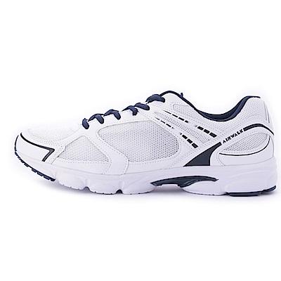【AIRWALK】輕量慢跑鞋-白色