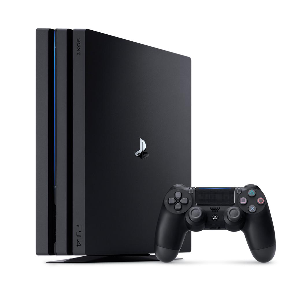PS4 Pro 2TB主機(CUH-7200系列) 台灣公司貨-極致黑