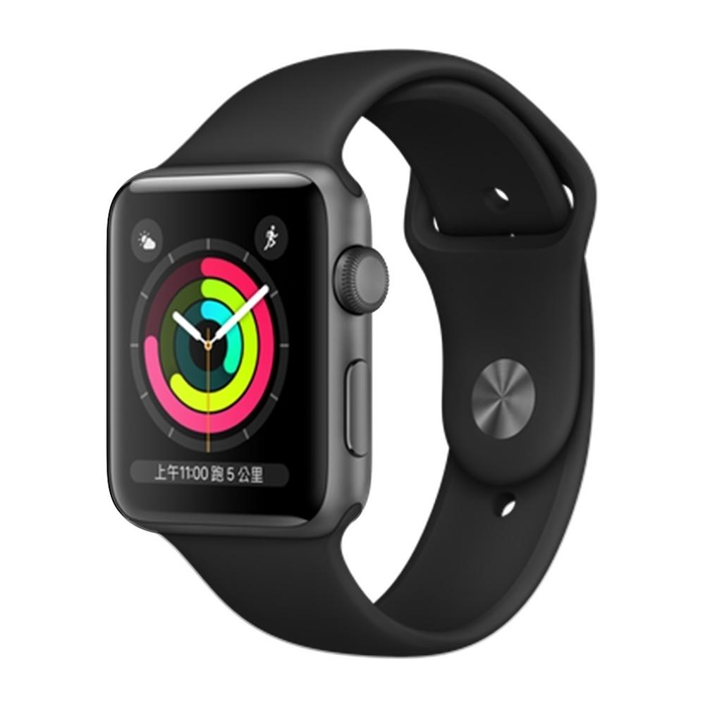 Apple Watch Series5 44mm (GPS+網路)鋁金屬錶殼配運動錶帶