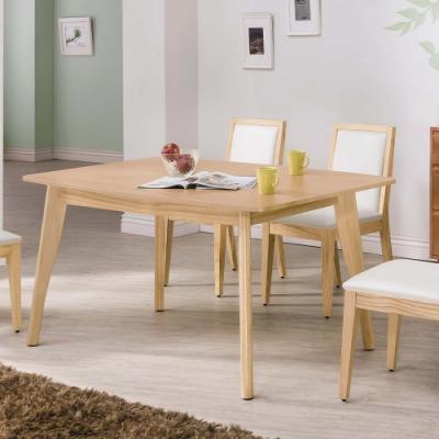 H&D 奧斯卡原木5尺餐桌