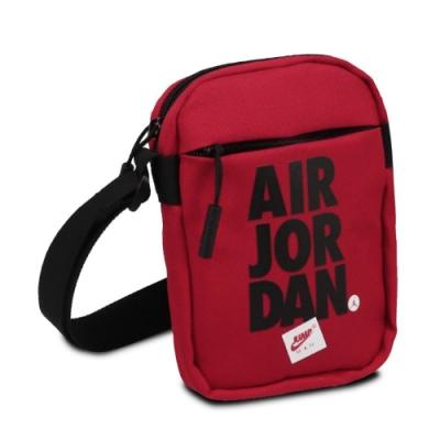 Nike 斜背包 Jordan Festival Bag 喬丹 飛人 外出 輕便 休閒百搭 黑 紅 JD2113016AD002