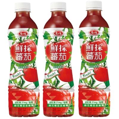 愛之味 鮮採蕃茄綜合蔬菜汁(530mlx4入)