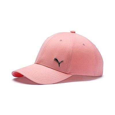 PUMA-男女基本系列棒球帽-桃芽粉