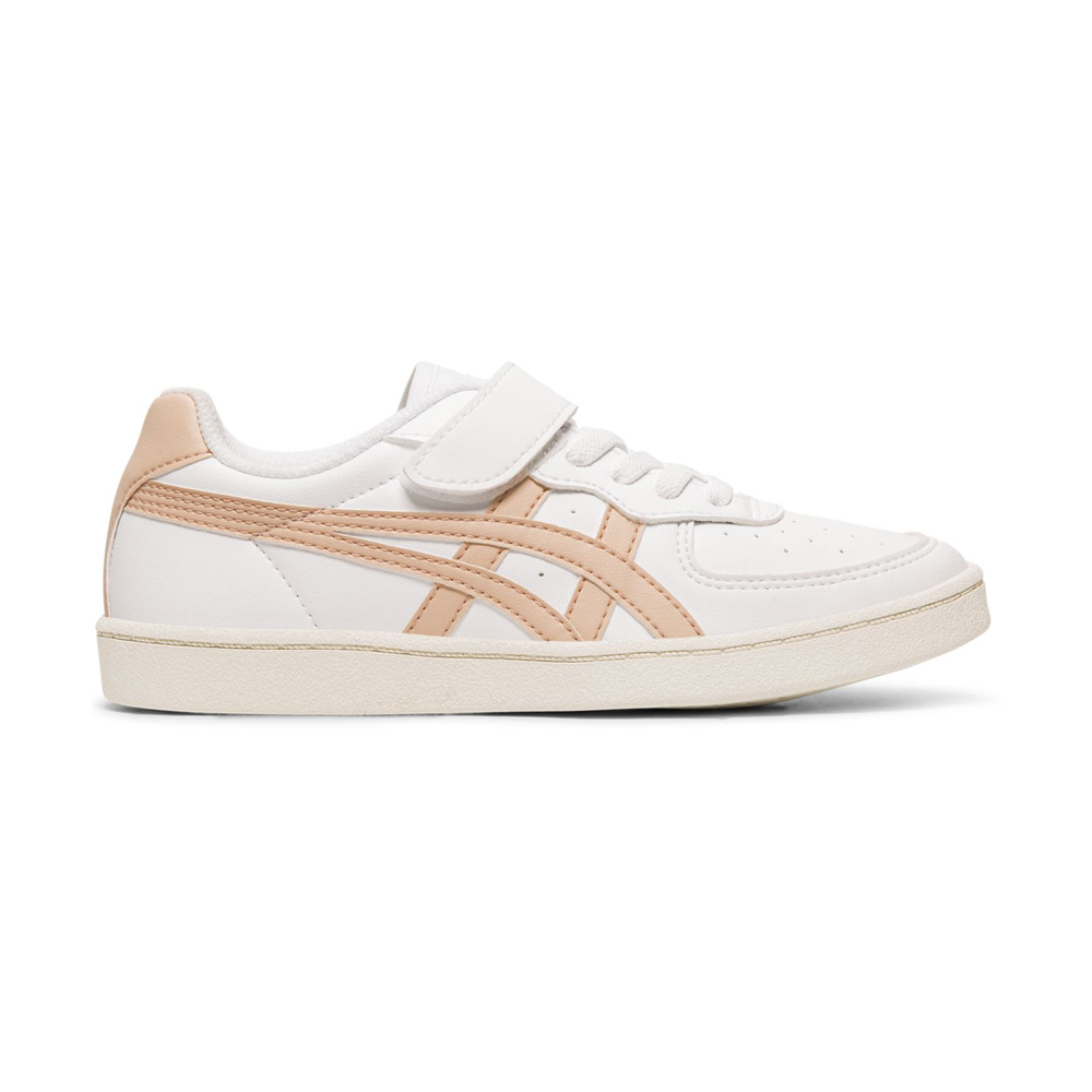 Onitsuka Tiger鬼塚虎-GSM PS 中童鞋(白底粉邊) product image 1