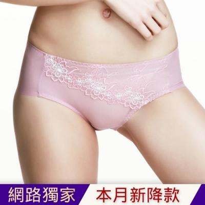 黛安芬-奢華蝶翼系列平口內褲 M-EL 氣質膚