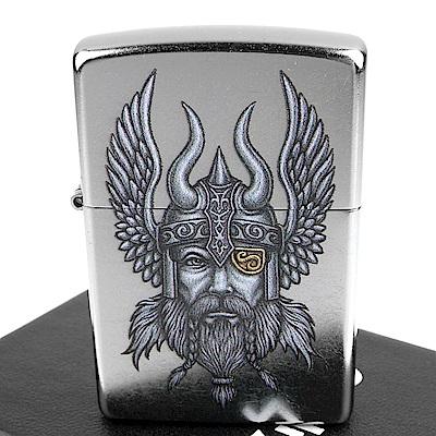 ZIPPO 美系~Viking Warrior-維京戰士圖案打火機