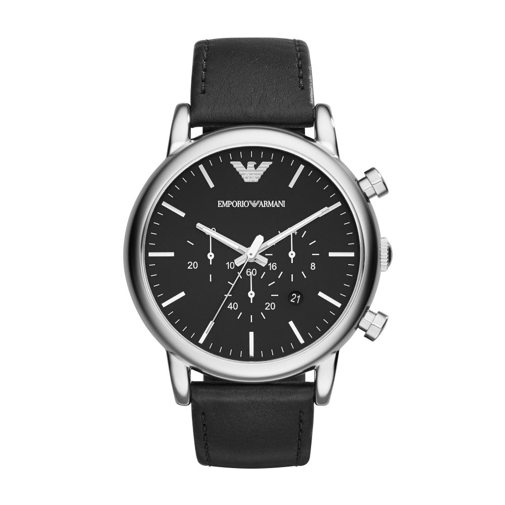 EMPORIO ARMANI 復古時尚經典手錶 AR1828