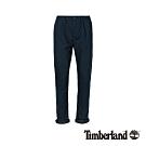 Timberland 男款深藍寶石藍斜紋布彈性修身錐形休閒長褲|A1WGQ