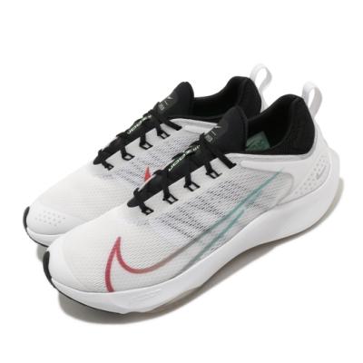 Nike 慢跑鞋 Zoom Speed 運動 女鞋 氣墊 避震 舒適 路跑 健身 大童 白 紅 CJ2088100