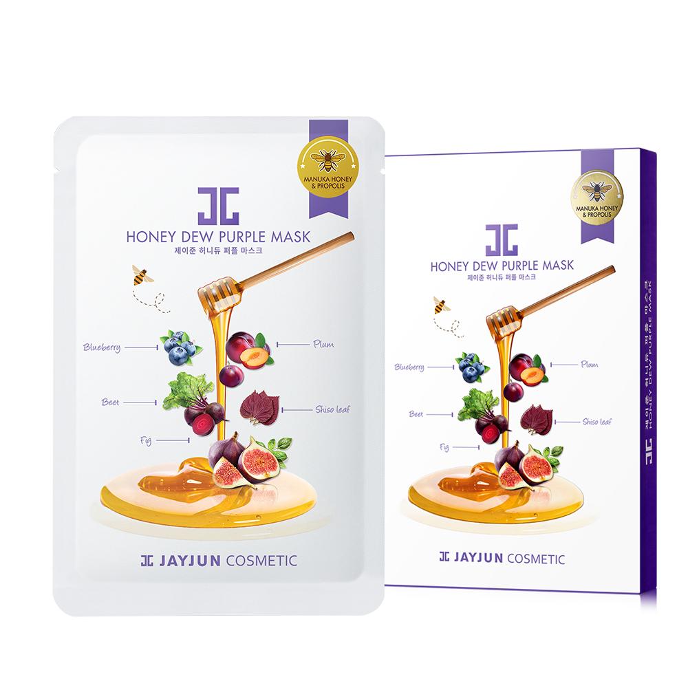 JAYJUN 蜂蜜紫莓蜜光童顏美白面膜(5入/盒) @ Y!購物
