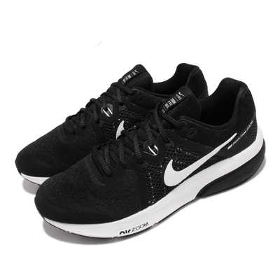 Nike 慢跑鞋 Zoom Prevail 運動 男鞋 前掌氣墊 舒適避震 路跑 健身 球鞋 黑 白 DA1102-001