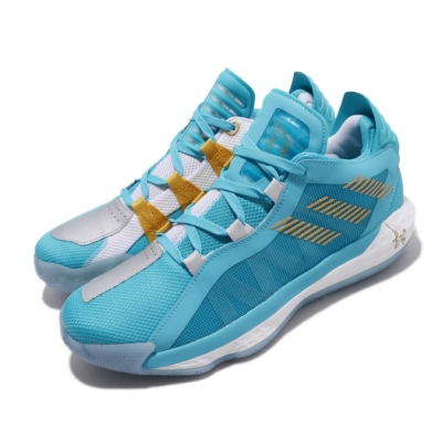 adidas 籃球鞋 Dame 6 GCA 男鞋 愛迪達 三國時代 五虎上將 馬超 藍 白 FW3658