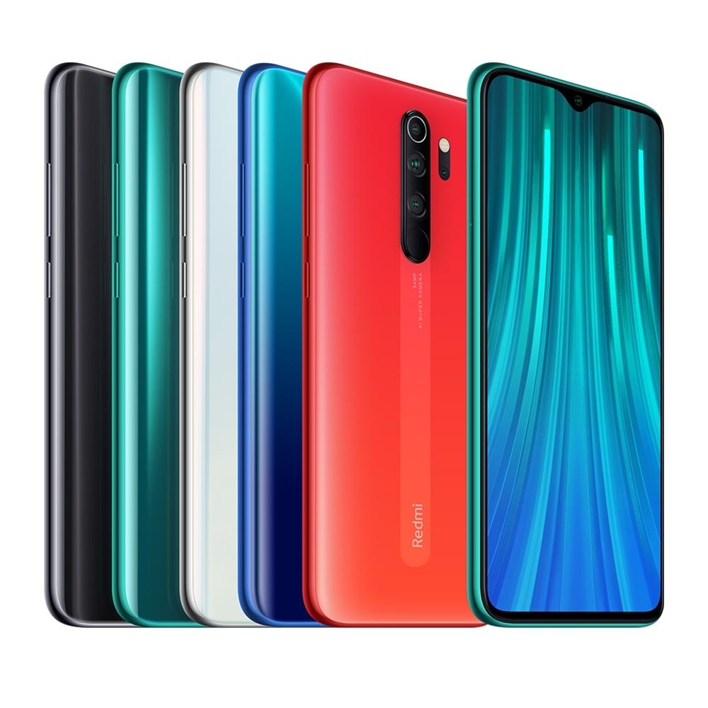 【福利品】小米 紅米 Note 8 Pro (6G/64G) 6.53吋6400萬畫素AI四鏡頭手機