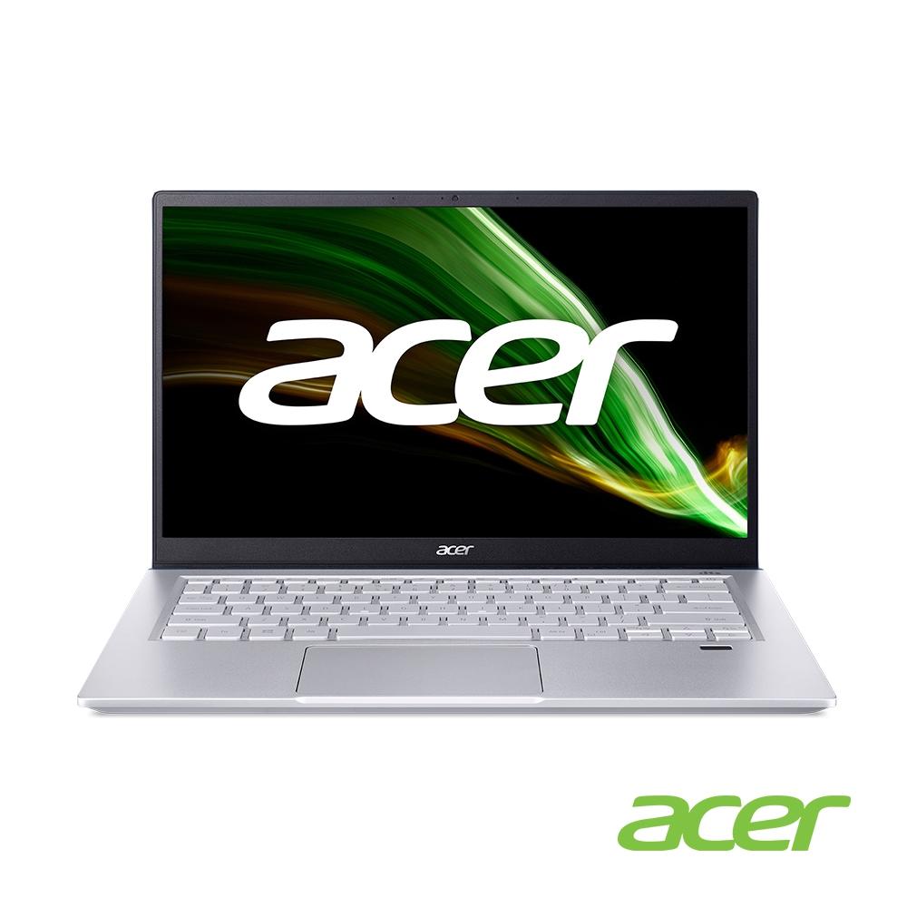 Acer SFX14-41G-R2CE 14吋筆電(R7-5800U/RTX3050/16G/512G SSD/SwiftX/藍)